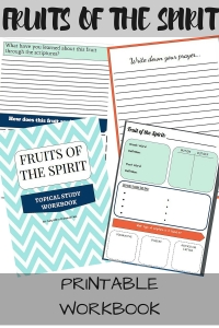 Fruits of the Spirit Free Printable Workbook- Looking for a new topical study? Here is a FREE workbook on the Fruits of the Spirit. Study each fruit in depth and write down your prayers. Use different resources to fill out the workbook! Grow closer in your walk with the Lord.