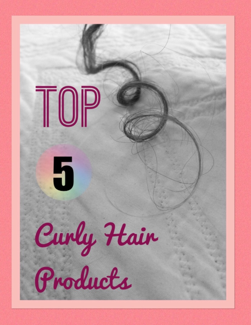 Top 5 Curly Hair Products- The best curly hair products ranked by price and effectiveness! Ouidad, Paul Mitchell,   Garnier Fructis, DevaCurl, Shea Mositure.