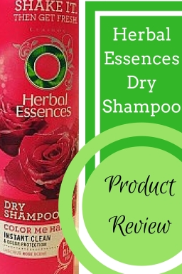 Herbal Essences Dry Shampoo Product Review- Herbal Essences' Color Me Happy Dry Shampoo is one of high quality at a cheap price!