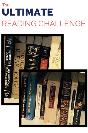 The Ultimate Reading Challenge- Want to tackle the classic authors of literature? Then take this reading challenge and expand your reading comprehension!